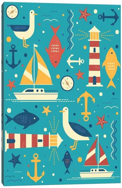 All At Sea Canvas Print #TRC2