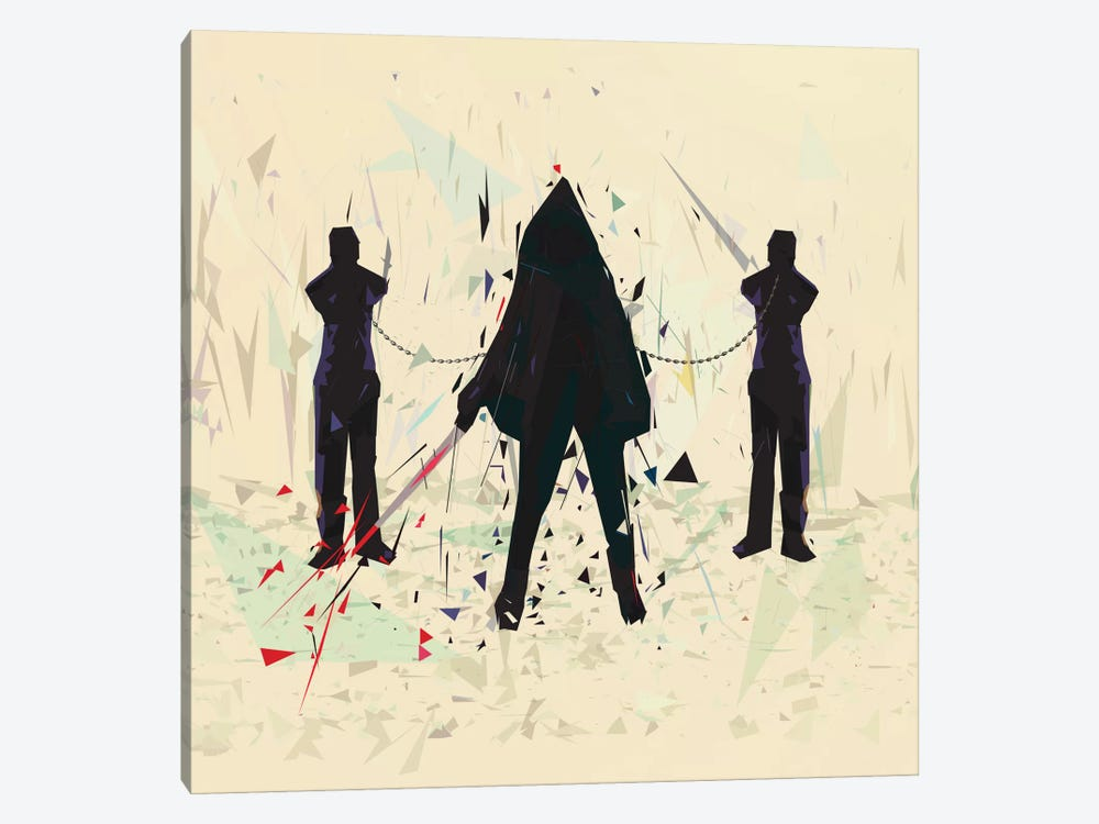 Michonne by Tracie Andrews 1-piece Canvas Print