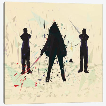 Michonne Canvas Print #TRC36} by Tracie Andrews Canvas Artwork