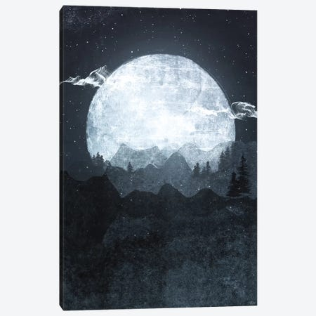Moonrise Canvas Print #TRC39} by Tracie Andrews Canvas Art Print