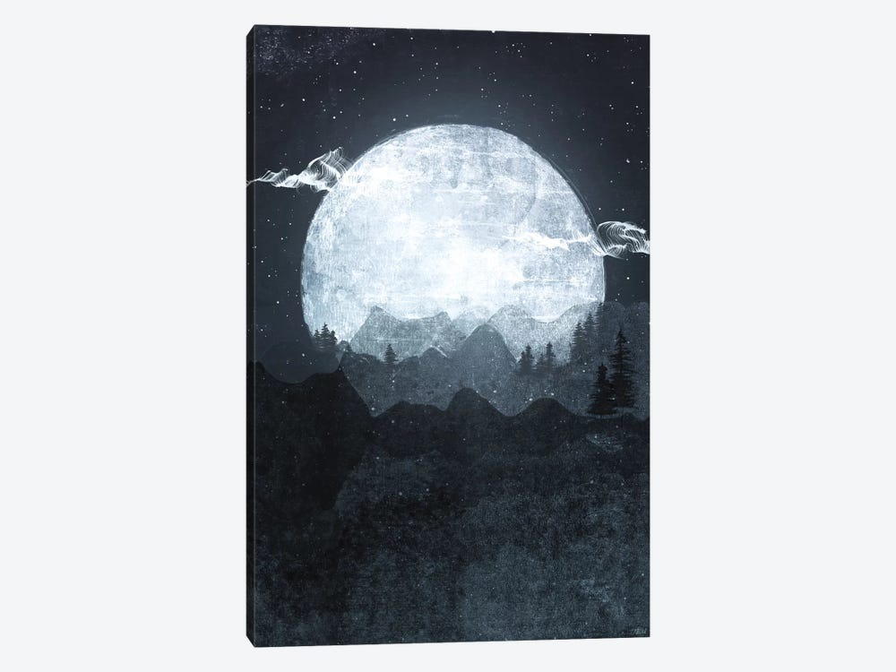 Moonrise by Tracie Andrews 1-piece Canvas Artwork