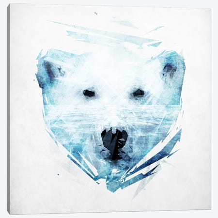 Polar Bear Canvas Print #TRC43} by Tracie Andrews Canvas Art