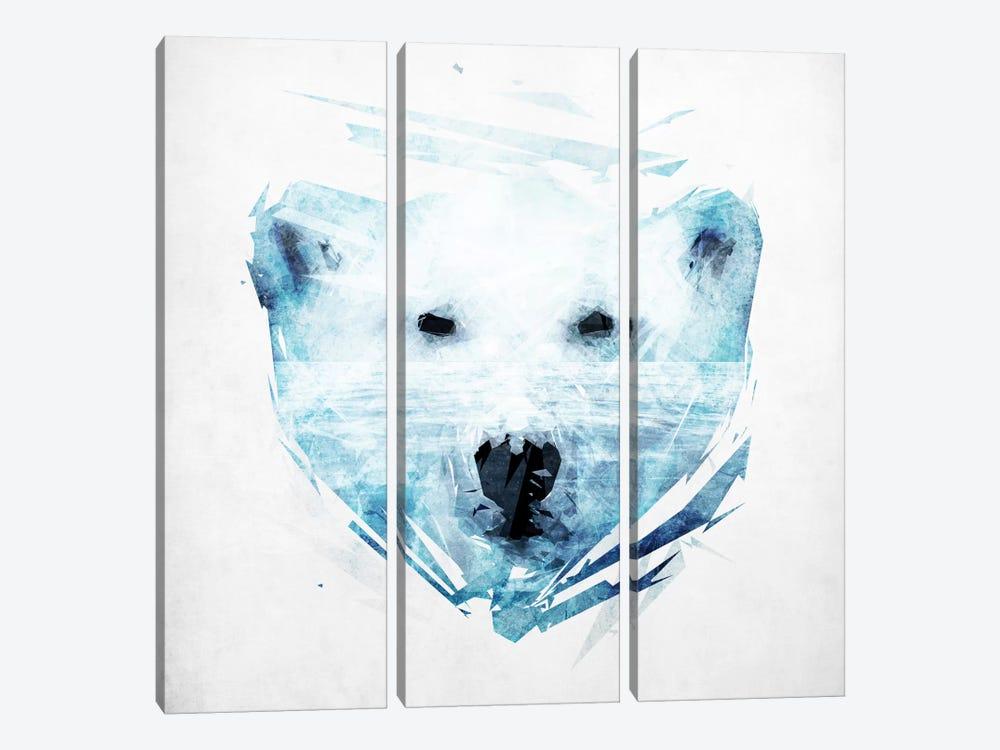 Polar Bear by Tracie Andrews 3-piece Art Print