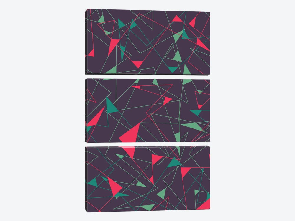Riot by Tracie Andrews 3-piece Canvas Artwork