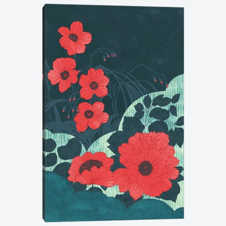 Ruby Canvas Print #TRC48} by Tracie Andrews Canvas Wall Art