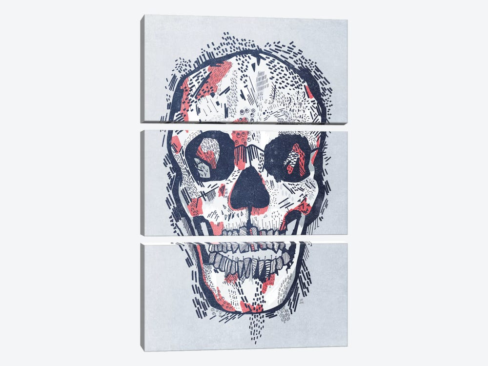 Scars by Tracie Andrews 3-piece Canvas Print