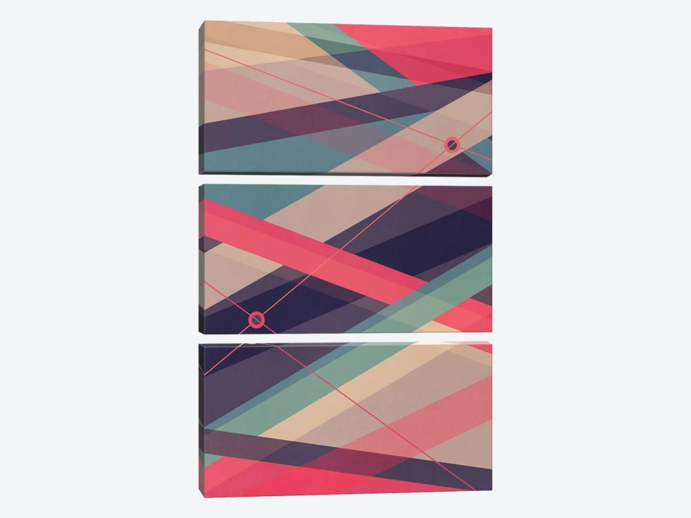 Shockwave by Tracie Andrews 3-piece Canvas Print