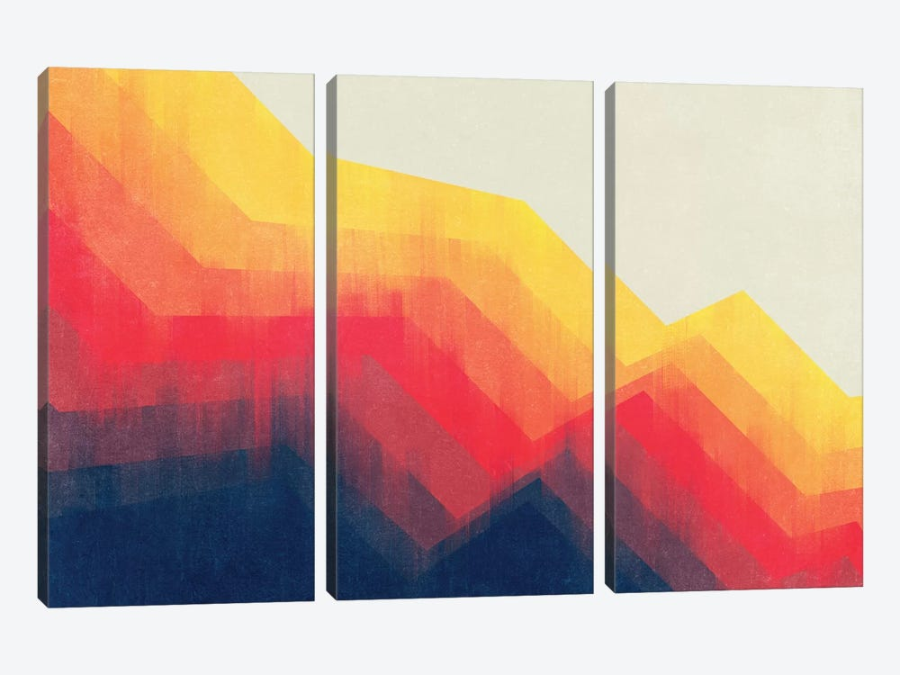 Sounds Of Distance by Tracie Andrews 3-piece Canvas Art
