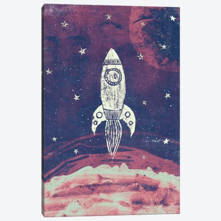 Space Adventure Canvas Print #TRC52} by Tracie Andrews Canvas Art Print