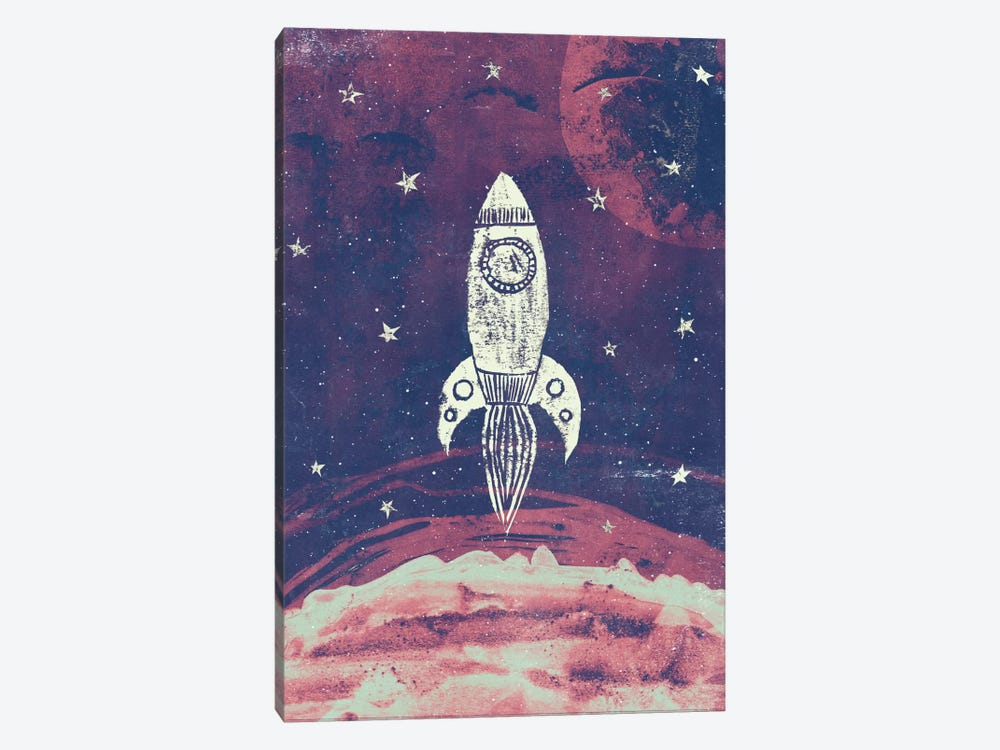 Space Adventure by Tracie Andrews 1-piece Art Print