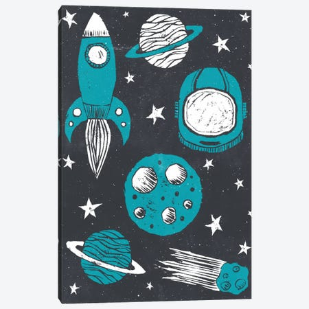 Space Age Canvas Print #TRC53} by Tracie Andrews Canvas Print