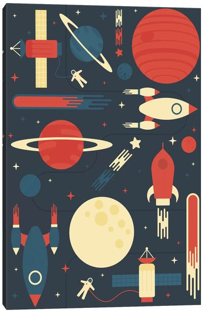 Space Odyssey Canvas Art Print