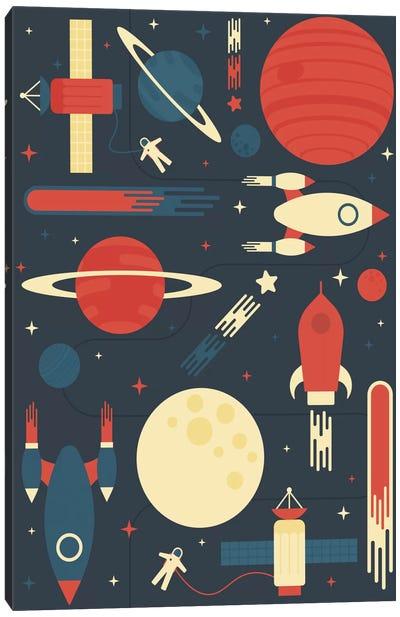 Space Odyssey Canvas Art Print