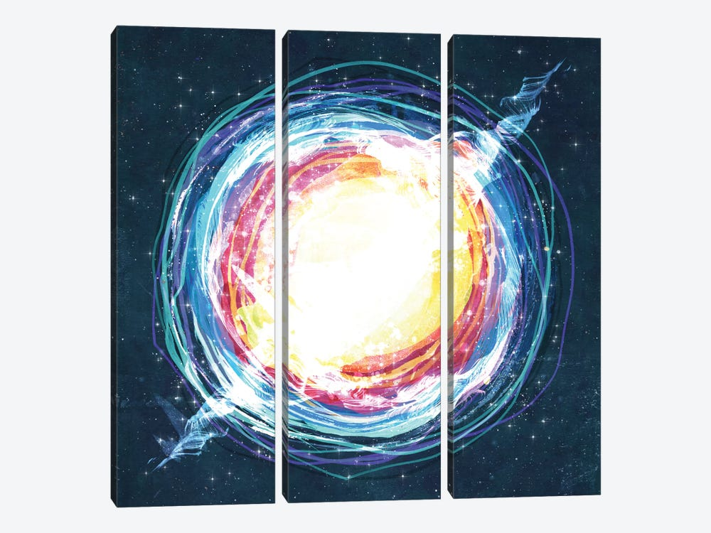 Supernova by Tracie Andrews 3-piece Canvas Art