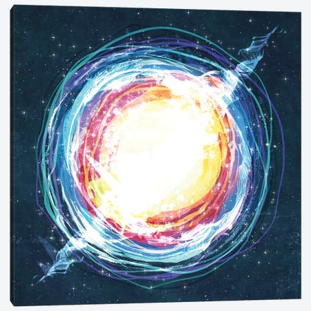 Supernova Canvas Print #TRC55} by Tracie Andrews Canvas Wall Art