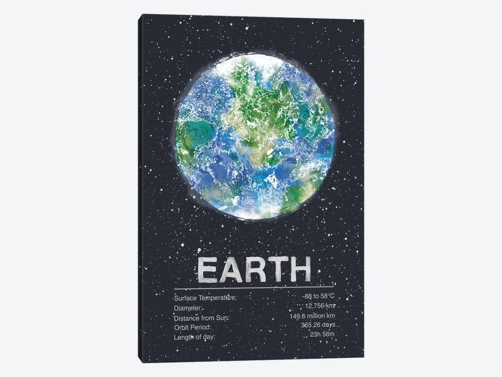 Earth by Tracie Andrews 1-piece Canvas Art