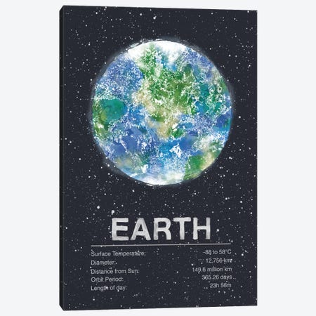 Earth Canvas Print #TRC59} by Tracie Andrews Canvas Print