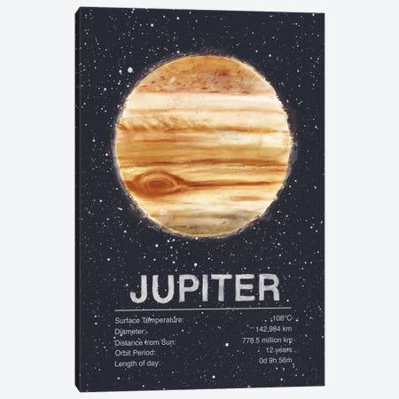 Jupiter Canvas Print #TRC60} by Tracie Andrews Canvas Artwork