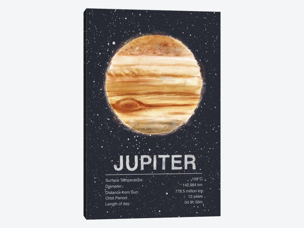 Jupiter by Tracie Andrews 1-piece Canvas Artwork