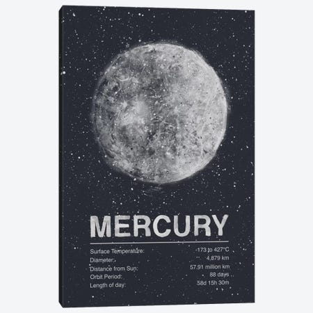 Mercury Canvas Print #TRC62} by Tracie Andrews Canvas Wall Art