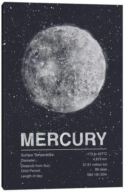 Mercury Canvas Art Print