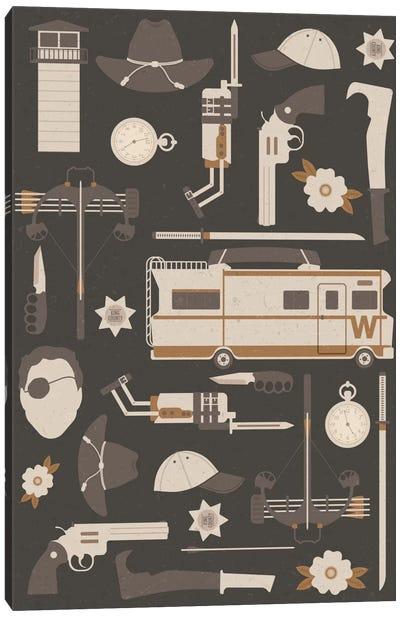 The Walking Dead Canvas Art Print