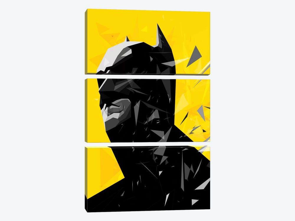 Batman by Tracie Andrews 3-piece Canvas Artwork