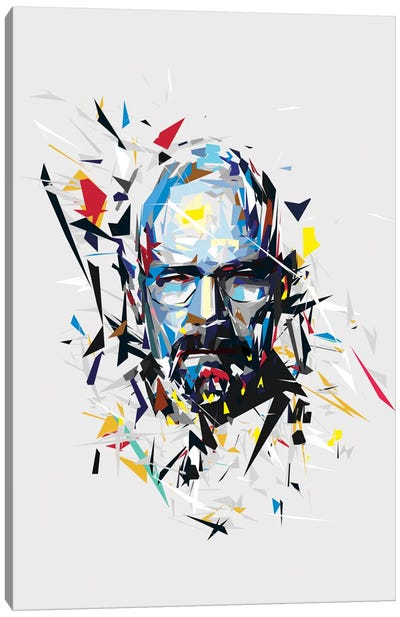 Walter White by Tracie Andrews Canvas Art Print
