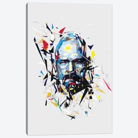 Walter White Canvas Print #TRC79} by Tracie Andrews Canvas Art Print