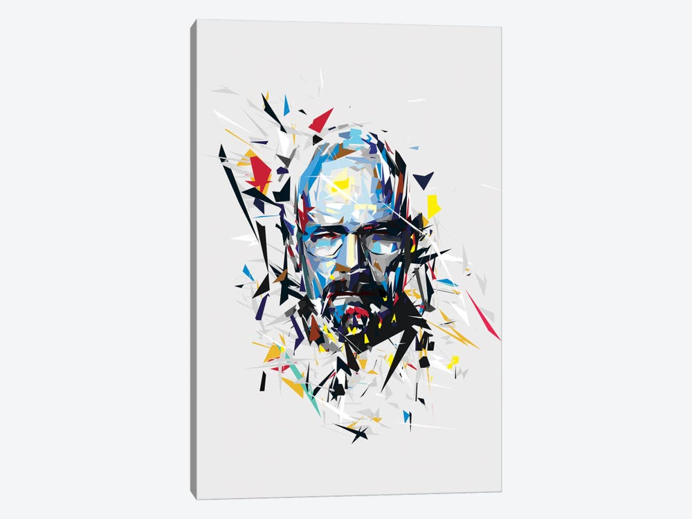 Walter White by Tracie Andrews 1-piece Canvas Art