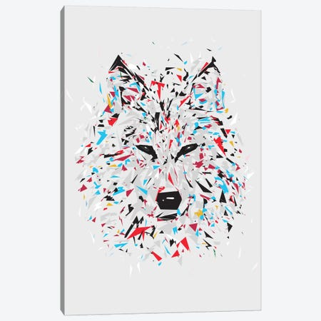 Wolf Canvas Print #TRC81} by Tracie Andrews Canvas Artwork