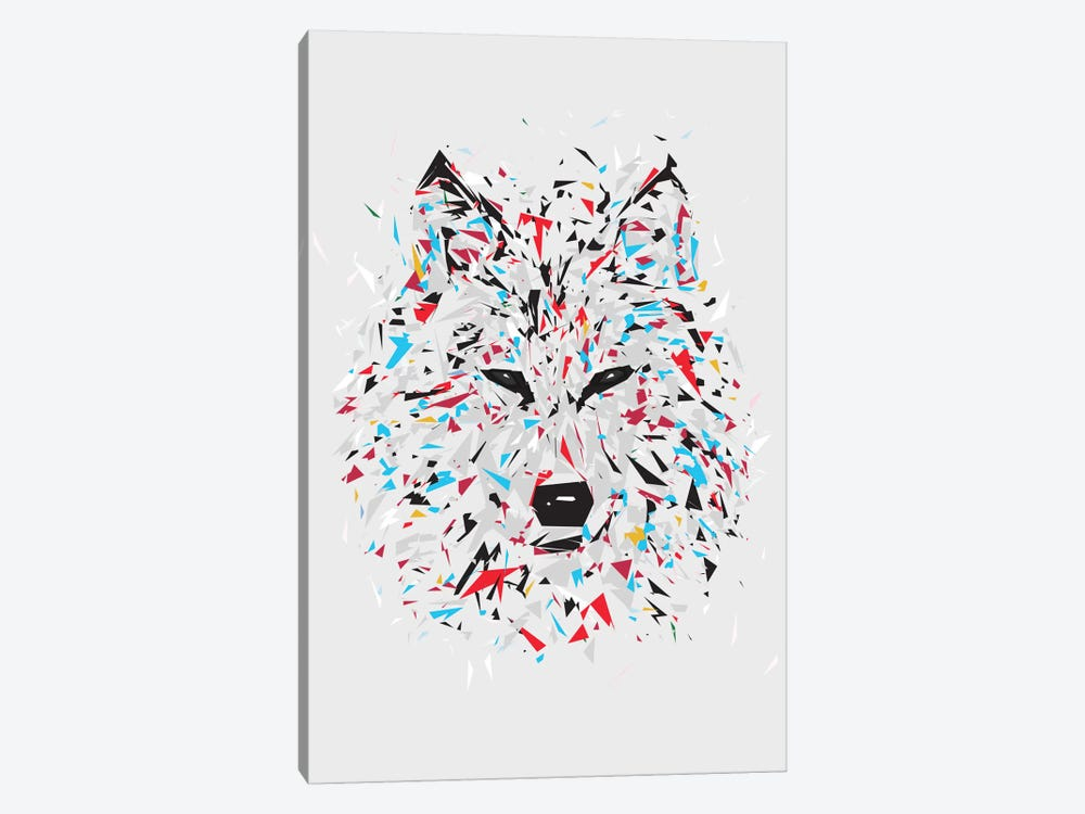 Wolf by Tracie Andrews 1-piece Canvas Print
