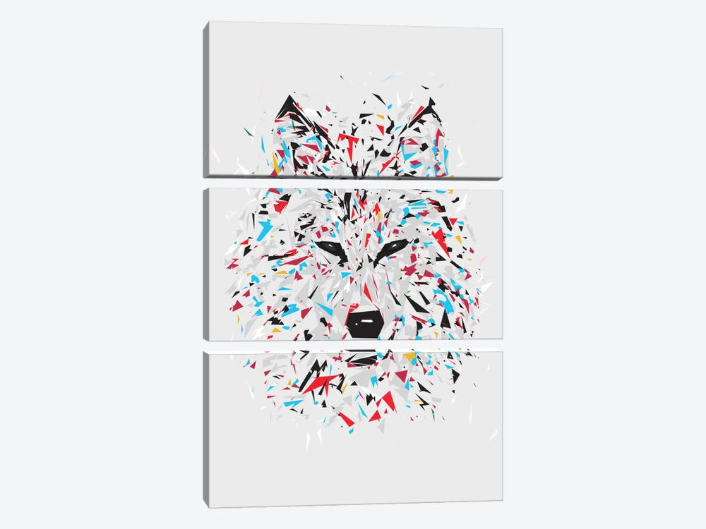 Wolf by Tracie Andrews 3-piece Art Print