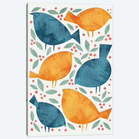 Birds Canvas Print #TRC86} by Tracie Andrews Canvas Print
