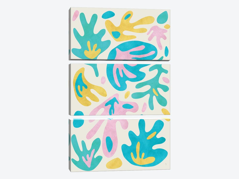 Botanica by Tracie Andrews 3-piece Canvas Print