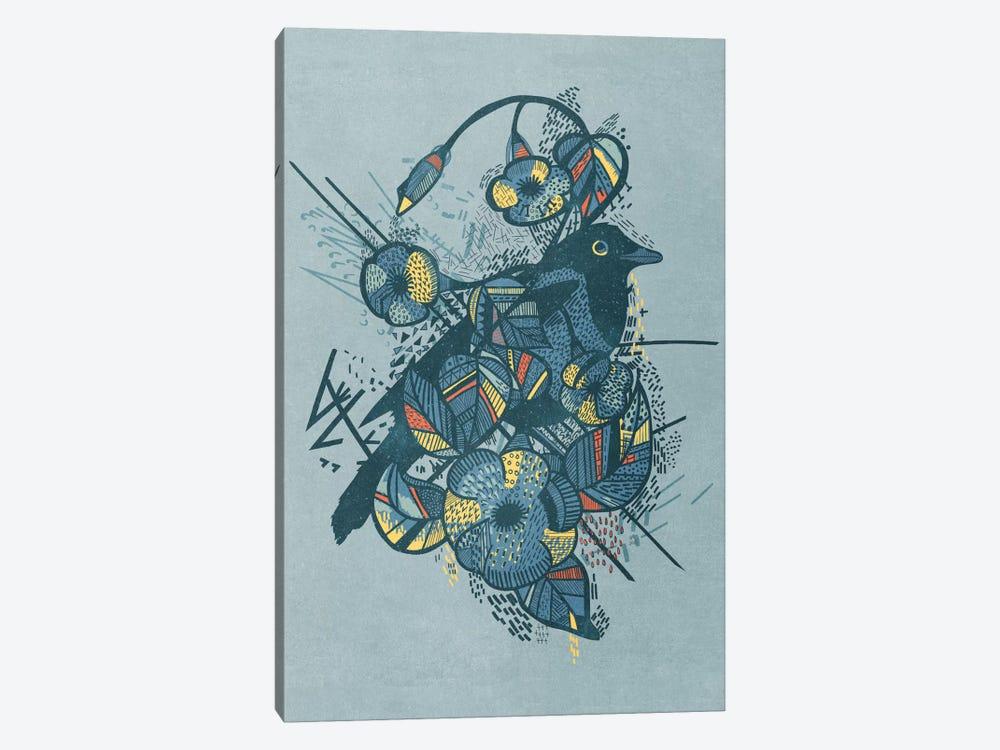 Blue Bird by Tracie Andrews 1-piece Canvas Artwork