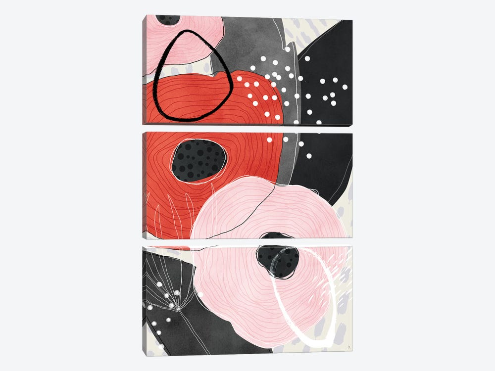 Eris by Tracie Andrews 3-piece Canvas Art