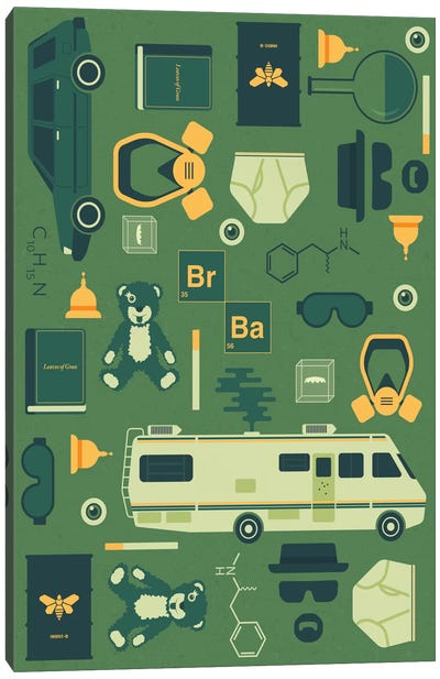 Breaking Bad by Tracie Andrews Canvas Art Print