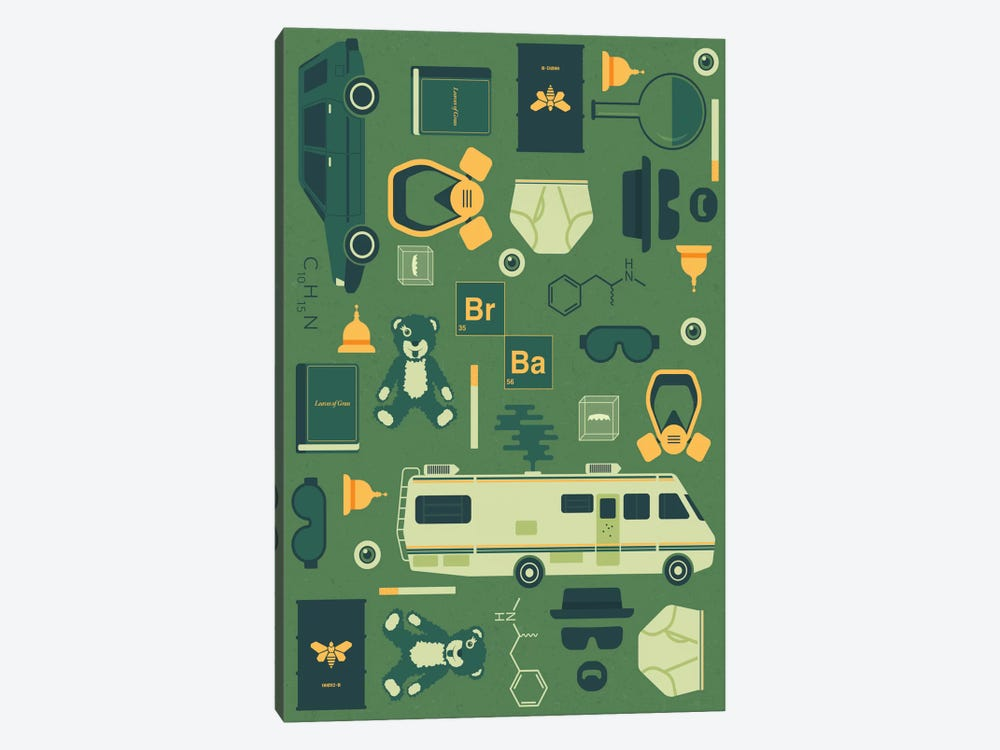 Breaking Bad by Tracie Andrews 1-piece Art Print