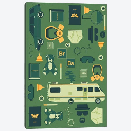 Breaking Bad Canvas Print #TRC9} by Tracie Andrews Canvas Wall Art