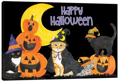 Fright Night Friends II Canvas Art Print