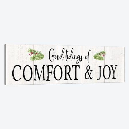 Peaceful Christmas - Comfort and Joy Canvas Print #TRE159} by Tara Reed Canvas Art