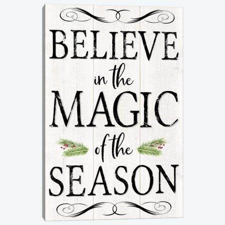 Peaceful Christmas - Magic of the Season Canvas Print #TRE162} by Tara Reed Canvas Art Print