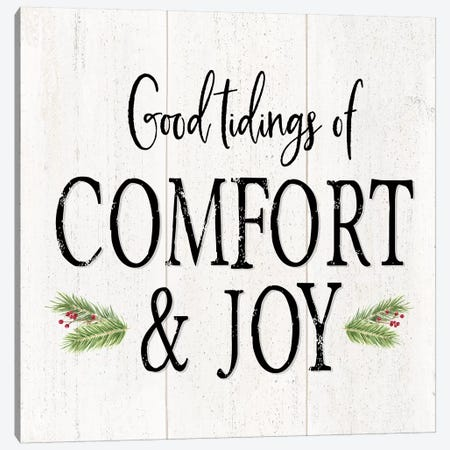 Peaceful Christmas II - Comfort and Joy Canvas Print #TRE164} by Tara Reed Canvas Artwork