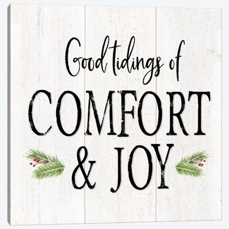 Peaceful Christmas II - Comfort and Joy Canvas Print #TRE164} by Tara Reed Canvas Artwork