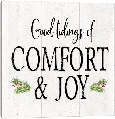 Peaceful Christmas II - Comfort and Joy Canvas Art Print
