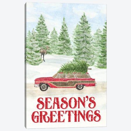 Sleigh Bells Ring - Seasons Greetings Canvas Print #TRE169} by Tara Reed Canvas Art Print
