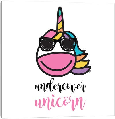 Happy Unicorn IV Canvas Art Print