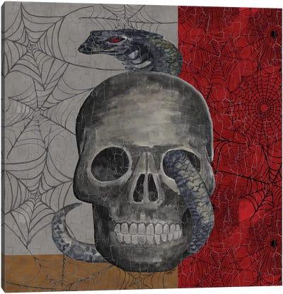 Something Wicked - Skull  Canvas Art Print