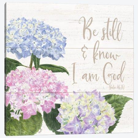 Abundant Blooms I Canvas Print #TRE1} by Tara Reed Canvas Wall Art